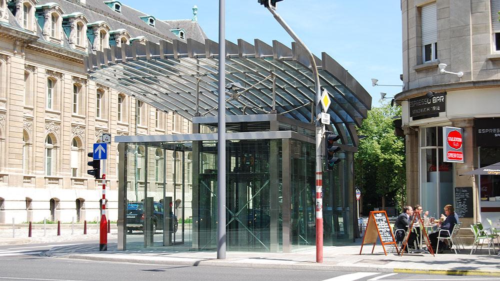parking Heine Luxembourg